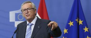 Juncker dà voce agli eurocrati ringalluzziti: «Non si parla con i fascisti»