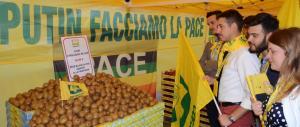 """In piazza 10mila agricoltori. Il pressing di Fratelli d'Italia sul """"made in Italy"""""""