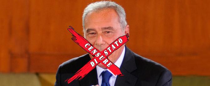 L'ex-pm Grasso vieta la presentazione  in Senato del libro su Enzo Tortora