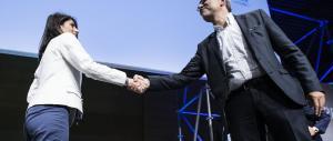 Primo confronto Raggi-Giachetti. La candidata Cinquestelle primeggia in tv
