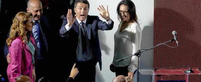 Renzi mette le mani avanti: «Non è un voto sul governo». Teme il flop del Pd?