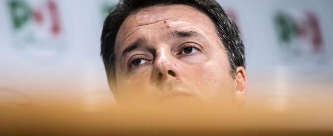 Renzi s'incolla alla poltrona: se il Pd perde ai ballottaggi non me ne vado