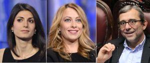 A Roma è boom di Virginia Raggi: al ballottaggio sarà sfida con Giachetti
