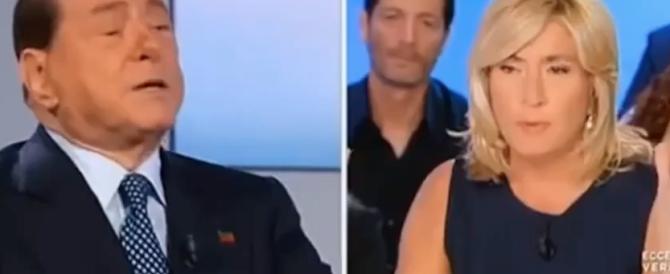 """Berlusconi a """"L'aria che tira"""": """"No, non mi sposo"""" (video)"""