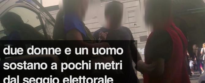 Mercato di voti a Napoli: video-denuncia irrompe sul ballottaggio