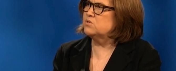 La gaffe di Lucia Annunziata in diretta mentre intervista Sala (video)