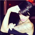 """Asia ha sempre avuto la fama e il look della """"ragazza trasgressiva"""".  (Foto Instagram)"""