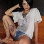 """L'attrice ha voluto esibire su internet il """"nuovo acquisto"""".  (Foto Instagram)"""