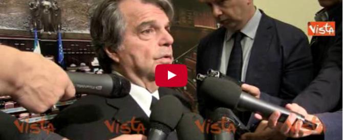 Brunetta: «Facciamo vincere i no al referendum per far cadere Renzi» (video)