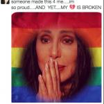 Cher, che molti dicono essere malata. (Foto Instagram)