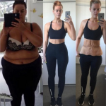 """88 chili persi in due anni. Simone Anderson ha documentato la """"trasformazione"""" su Instagram (Foto Instagram)"""