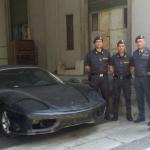 """Il modello era destinato alla Macedonia e lì sarebbe stato utilizzato come """"master"""" per realizzare – a mano – altre Ferrari taroccate da immettere sul mercato dell'Est Europa e della Russia."""