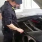 I militari hanno scoperto che in realtà si trattava di una La finta Ferrari era realizzata sul telaio di una Toyota Mr2