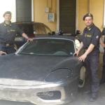 La Ferrari contraffatta viene  realizzata sul telaio di una Toyota Mr2