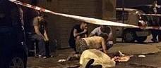 """Far west a Palermo, """"duello"""" in piazza tra due famiglie: 1 morto e 4 feriti"""
