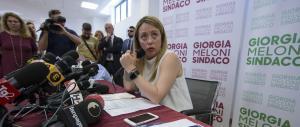 Giorgia Meloni al centrodestra: «Idee chiare, niente intelligenza col nemico»