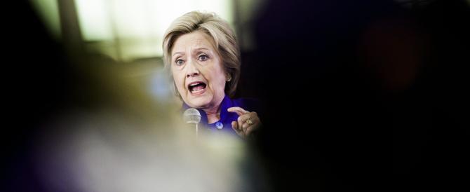 Hillary Clinton con i nervi a pezzi: «Trump è un pericolo per il mondo»
