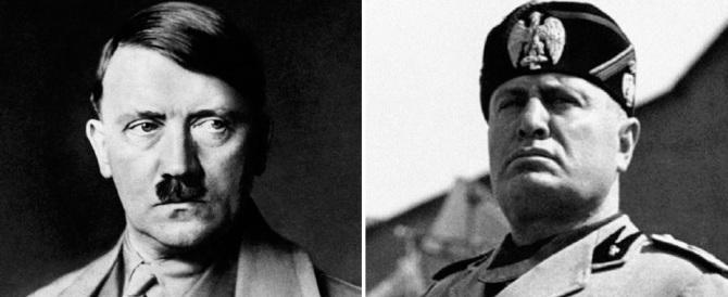 """Al di là della polemica sul  """"Mein Kampf"""", fascismo e nazismo pari non sono"""