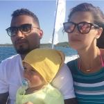 La famiglia Boateng. (Foto Instagram)