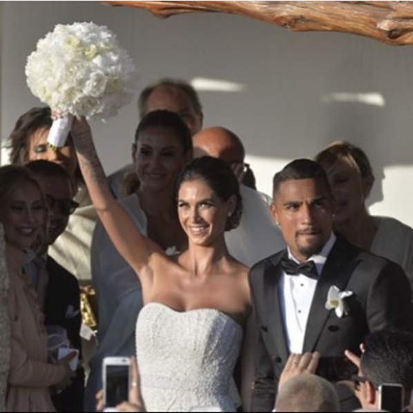 "Boateng e Satta: il matrimonio dell'anno diventa un ""beach party"" (Foto)"