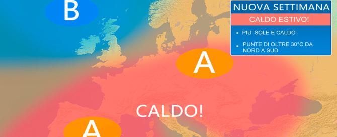 Da martedì finalmente scoppia l'estate: sole e caldo su tutta Italia