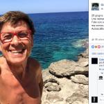 "La ""rivelazione"" di Gianni Morandi.  (Foto Facebook)"
