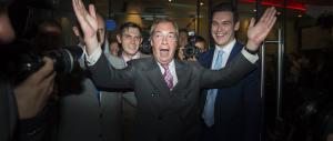 Nigel Farage: «La gente comune ha sconfitto le grandi banche e le bugie»