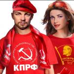 A novembre ci saranno le elezioni per la Duma:  un manifesto del partito raffigura un Lenin poco più che ventenne, bello e alla moda. (Foto Instagram