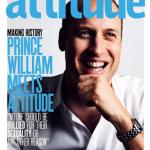 """La copertina di Attitude, """"la rivista gay più venduta in Inghilterra"""". (Foto Twitter)"""