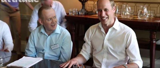 Il principe William sulla copertina della rivista gay: ecco le foto