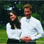 William e la principessa, quando si erano appena conosciuti. (Foto Twitter)