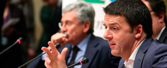 Renzi contro D'Alema: io usurpatore? Lui non ha digerito la sconfitta (video)