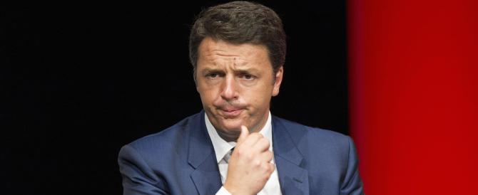"""Renzi: """"Su Monte Paschi di Siena le responsabilità sono della sinistra"""""""
