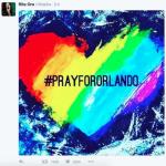 Il disegno più originale è quello di Rita Ora (Foto Instagram)
