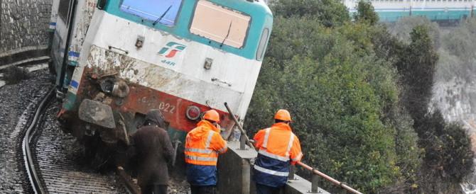 Sondrio, treno deraglia all'interno di un tunnel. Tutti illesi i passeggeri