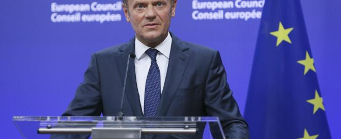 Le lacrime di Tusk: «Per noi un momento politicamente drammatico»