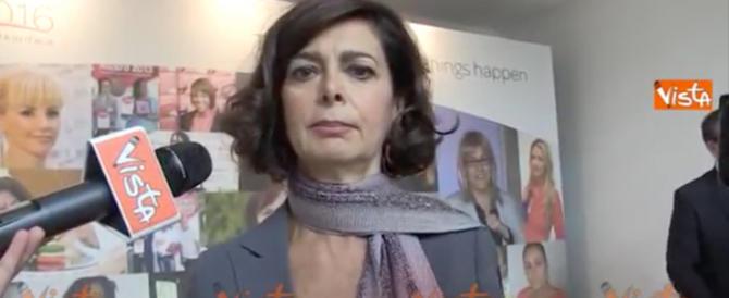 «Zitta, non sai nulla del fascismo»: contro la Boldrini l'ira del web (e di Sinagra)