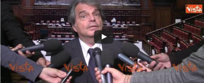 Brunetta: «Renzi fa marcia indietro su tutto, dall'Italicum alle banche» (video)