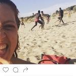 Il post antirazzista finito nel mirino di un fan maleducato. (Foto Instagram)