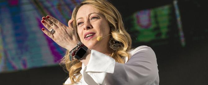 """Giorgia Meloni: «Parisi? Il """"modello Milano"""" non mi pare così vincente…»"""