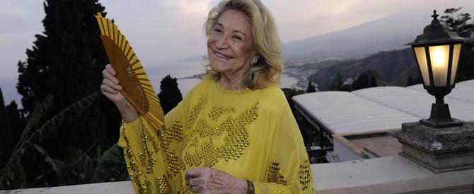 È morta Marta Marzotto, l'ex mondina divenuta dama della mondanità radical chic