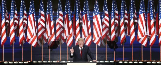 """Trump: """"Sarò la voce di chi non ne ha. L'America sarà di nuovo sicura e grande"""""""
