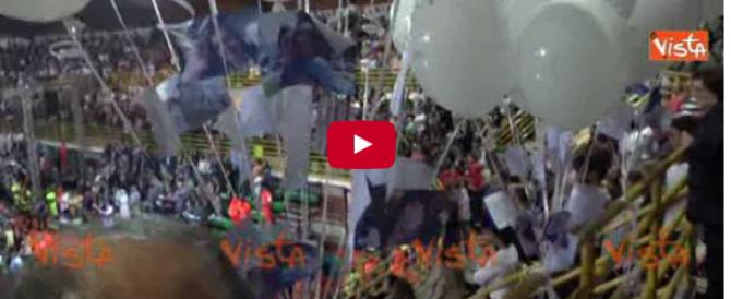 Treni, ad Andria è il giorno del dolore: palloncini per Jolanda (Video)