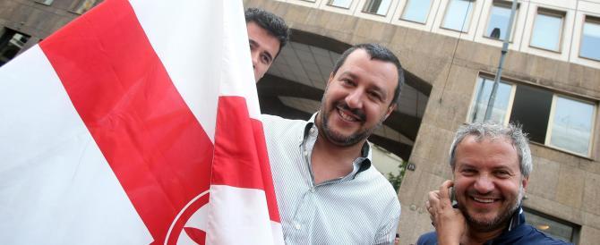 Salvini davanti al consolato della Turchia: «Ormai è un Paese estremista»