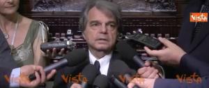 Appaltopoli, Brunetta su Alfano: «Noi siamo sempre garantisti» (video)