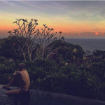Bernardeschi a Bali. (Foto Instagram)