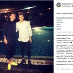 Eccoli a Bali! (Foto Instagram)