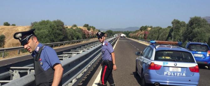 Sardegna, terrore e spari in strada: commando tenta di rapinare un portavalori