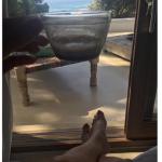 Emma si trova in vacanza in questo luogo, che sembra piacerle molto. (Foto Instagram)