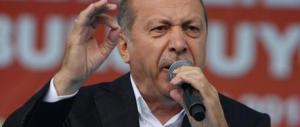 """Erdogan: """"Mi chiamano dittatore? Non mi importa del giudizio dell'Europa…"""""""